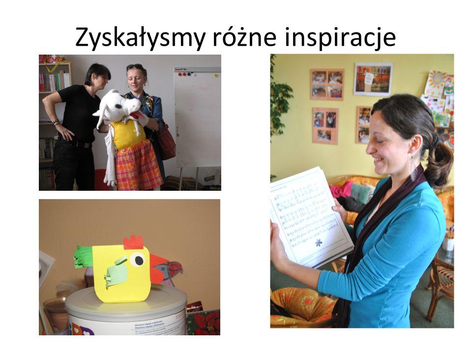 Zyskałysmy różne inspiracje