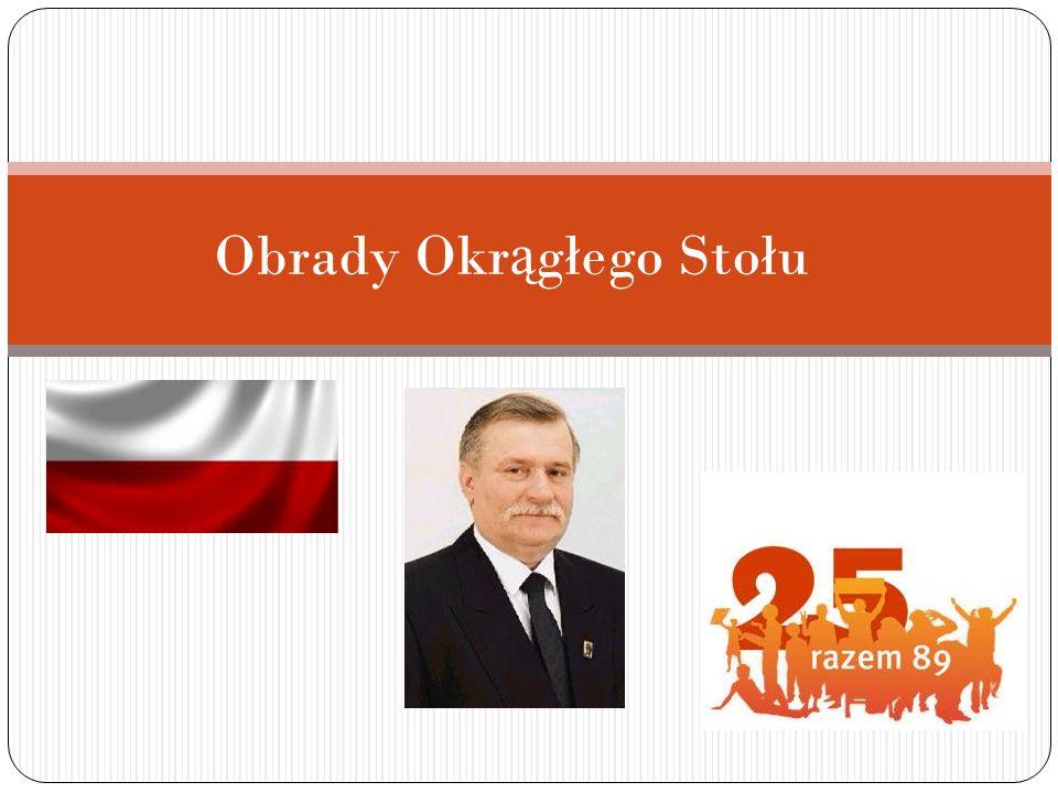 SPIS TRE Ś CI 1.Ż yciorys Lecha Wał ę sy 2. Sytuacja Polski przed obradami 3.