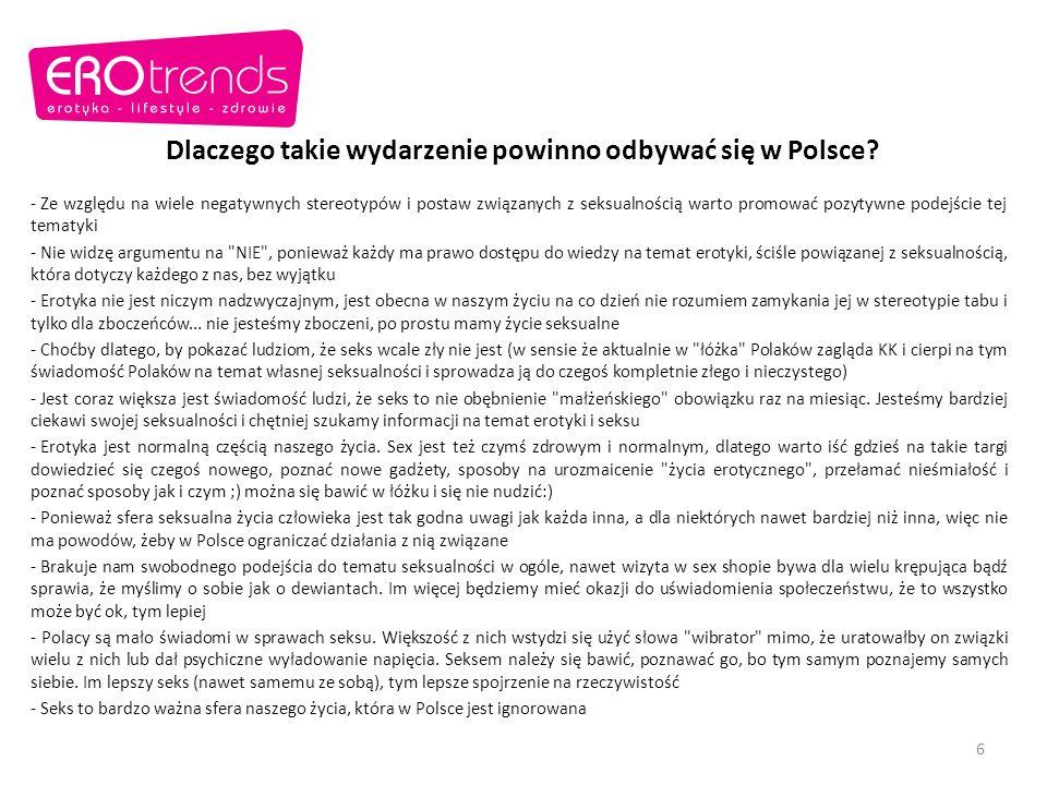 Dlaczego takie wydarzenie powinno odbywać się w Polsce.
