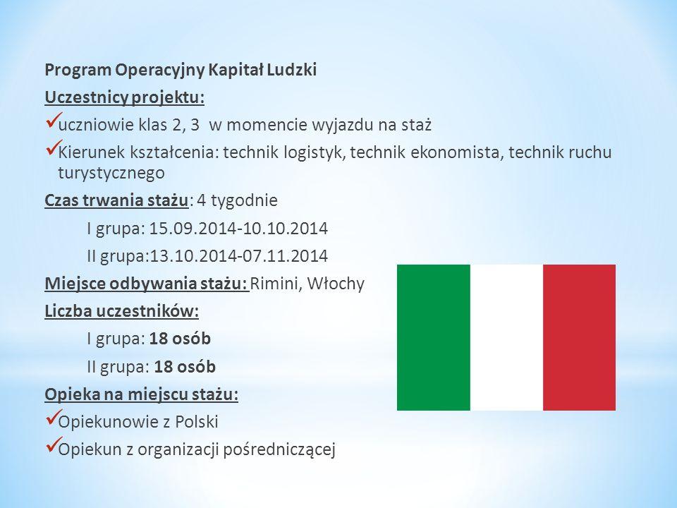 Organizacja wysyłające i wnioskująca: * Zespół Szkół Nr 2 im.