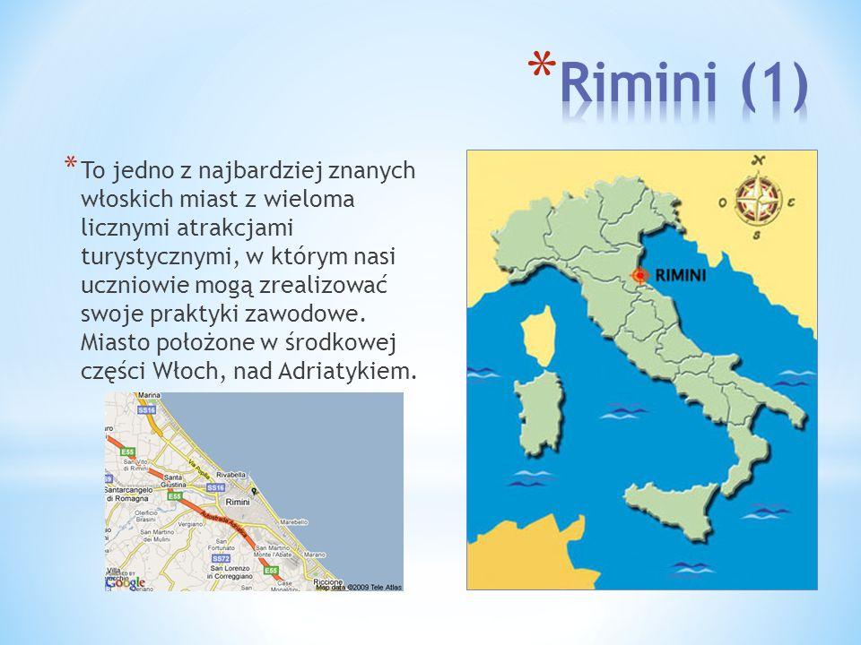 Położone w regionie Emilia Romagna będących jednym z najbogatszych regionów we Włoszech.