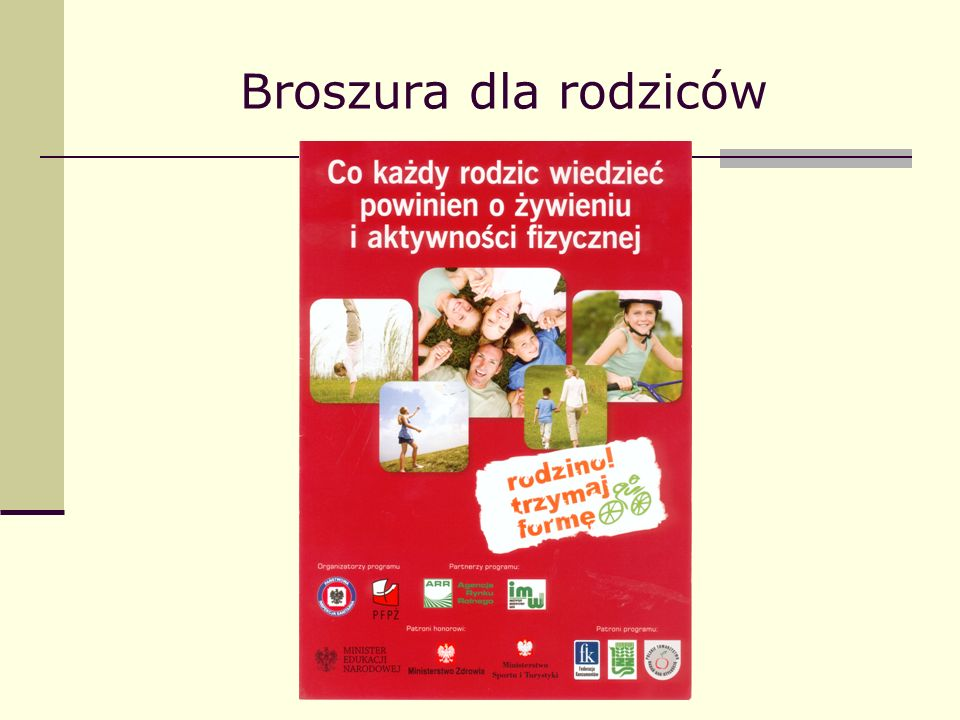 Broszura dla rodziców