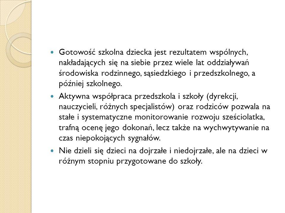 Diagnoza w I klasie- przyczyny: Zmiana stanu zdrowia lub sytuacji życiowej dziecka ( wakacje).