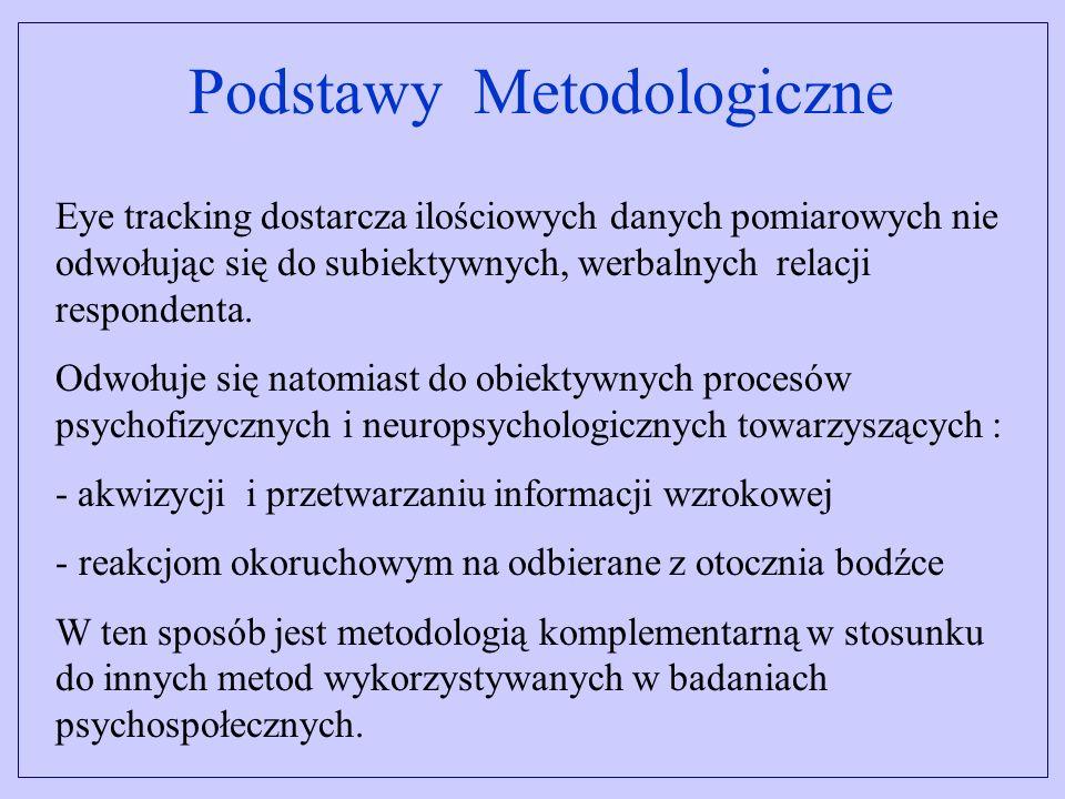 System do badań w ruchu System przeznaczony jest do rejestracji reakcji okoruchowych u respondentów znajdujących się ruchu, np.