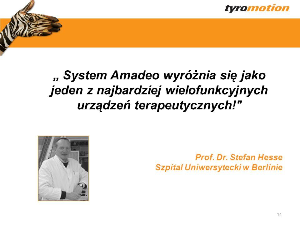 Titelmasterformat 11 System Amadeo wyróżnia się jako jeden z najbardziej wielofunkcyjnych urządzeń terapeutycznych!