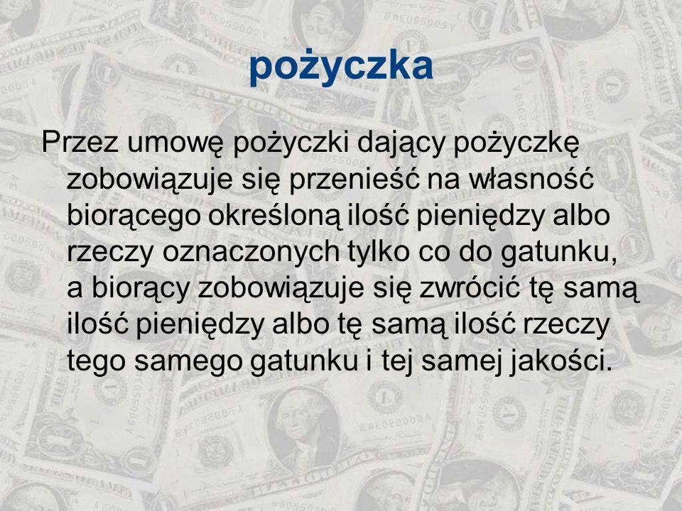 klasyfikacja kredytów - rodzaj waluty złotowy –w walucie krajowej dewizowy –w walucie obcej (np.