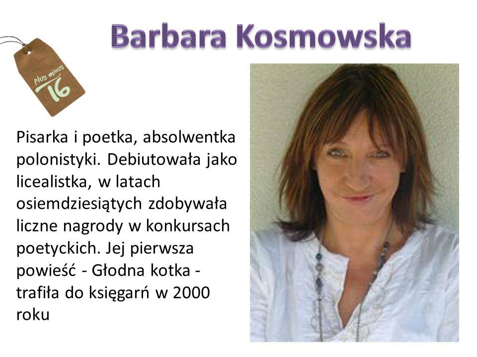 Pisarka i poetka, absolwentka polonistyki.