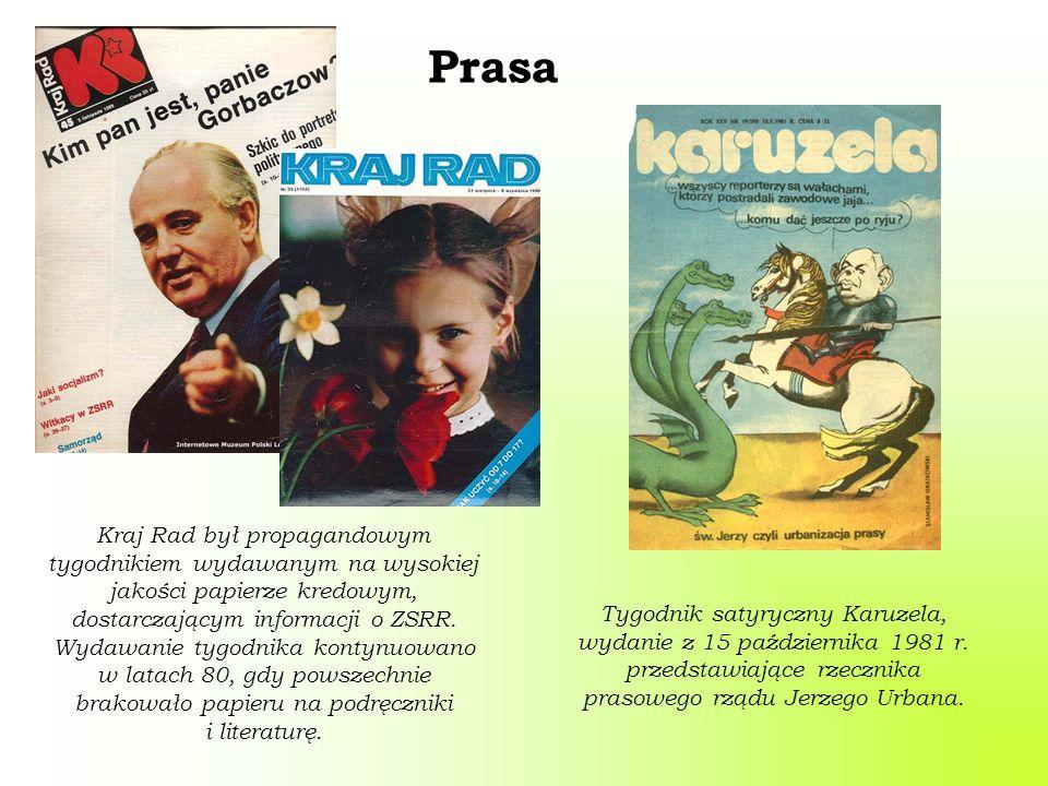 Prasa Tygodnik satyryczny Karuzela, wydanie z 15 października 1981 r.
