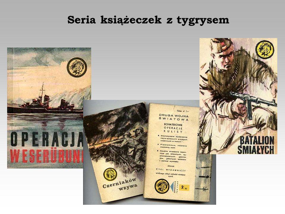 Seria książeczek z tygrysem