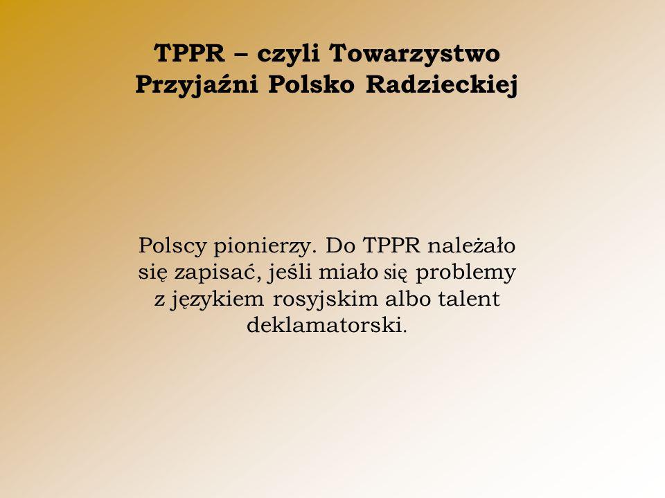 Polscy pionierzy.
