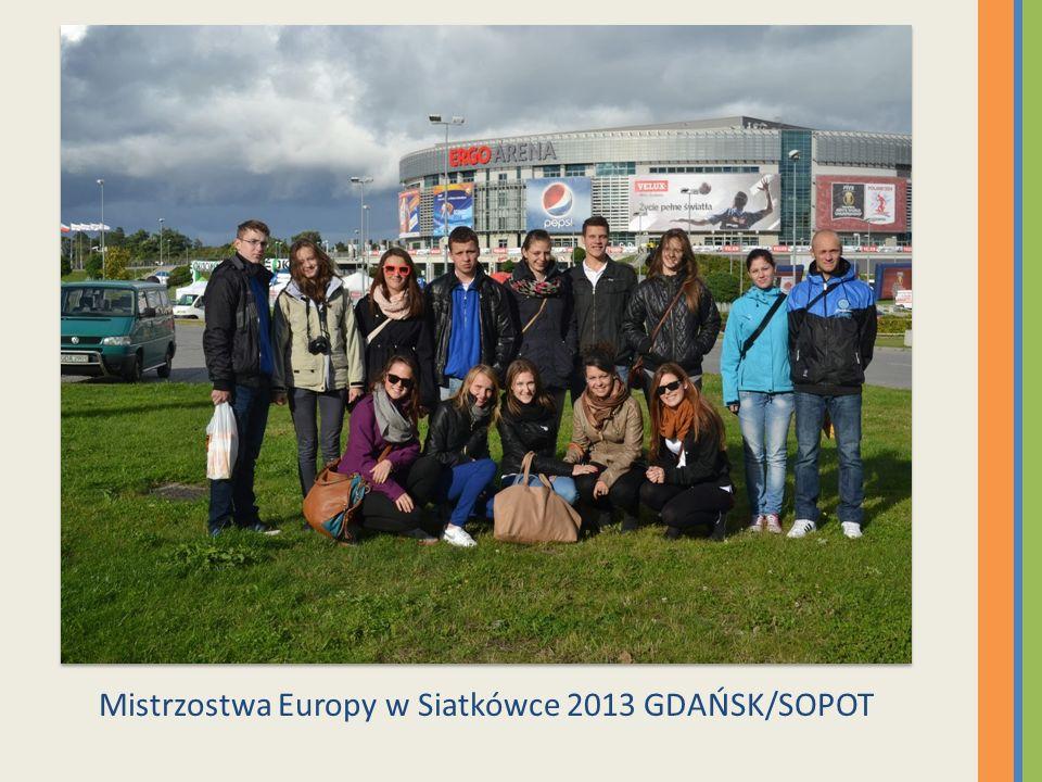 Mistrzostwa Europy w Siatkówce 2013 GDAŃSK/SOPOT