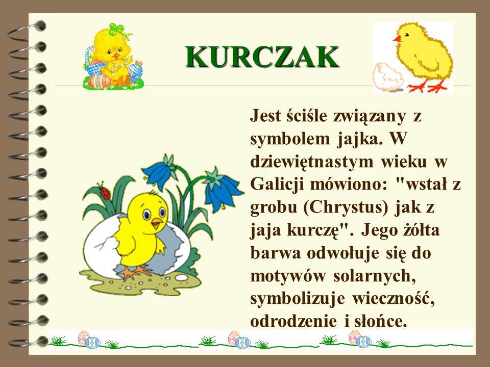 WIELKANOCNE JAJKA Jajo – króluje na wielkanocnym stole, jest symbolem życia i odrodzenia.