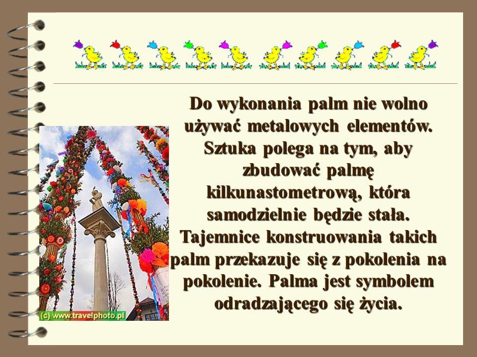 NIEDZIELA PALMOWA Niedziela Palmowa rozpoczyna Wielki Tydzień.