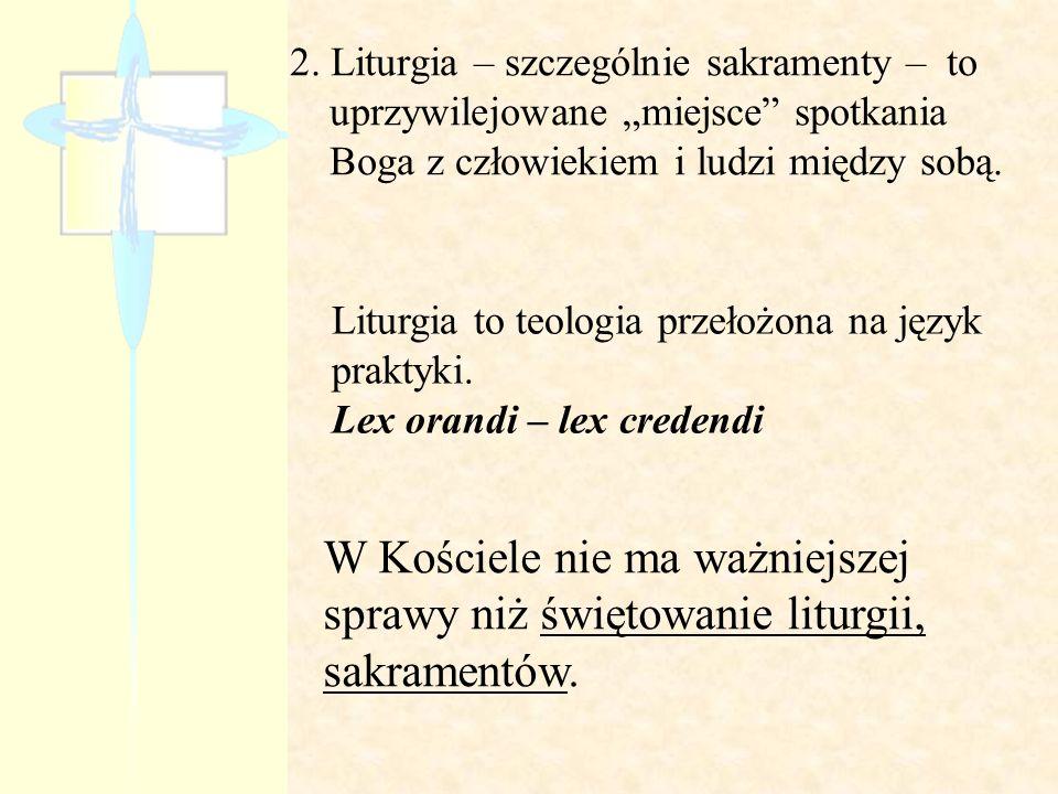 Szczególne funkcje liturgiczne I.