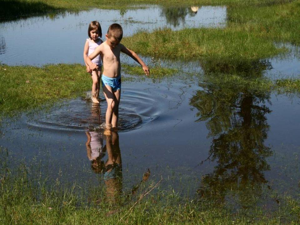 Latem jeździliśmy rowerami nad rzekę, nie pilnowali nas dorośli. Nikt nie utonął. Każdy potrafił pływać i nikt nie potrzebował specjalnych lekcji aby