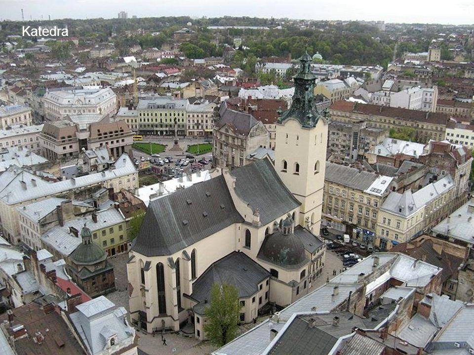 Dawny plac Smolki, obecnie generała Hryhorenki.