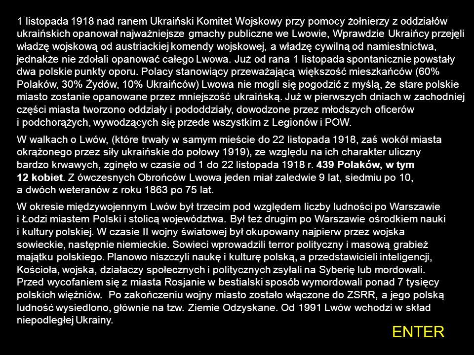 Lwów został założony ok. 1250 przez króla Daniłę Halickiego, wywodzącego się z dynastii Rurykowiczów, który nazwał miasto Lwowem na cześć swojego syna