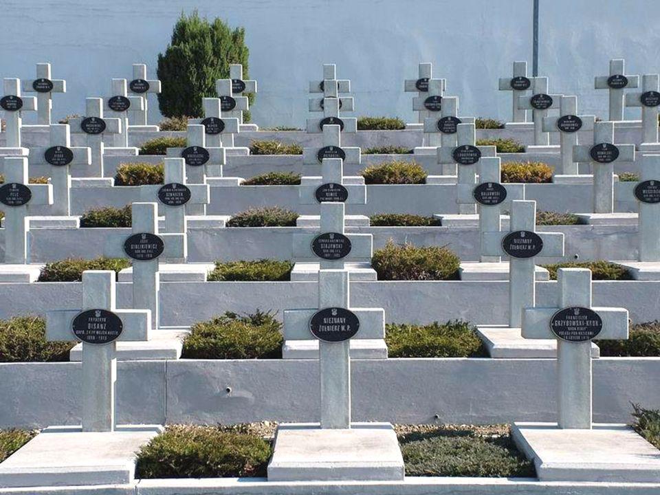CMENTARZ OBROŃCÓW LWOWA ( Cmentarz Orląt ) Polegli abyśmy byli wolni