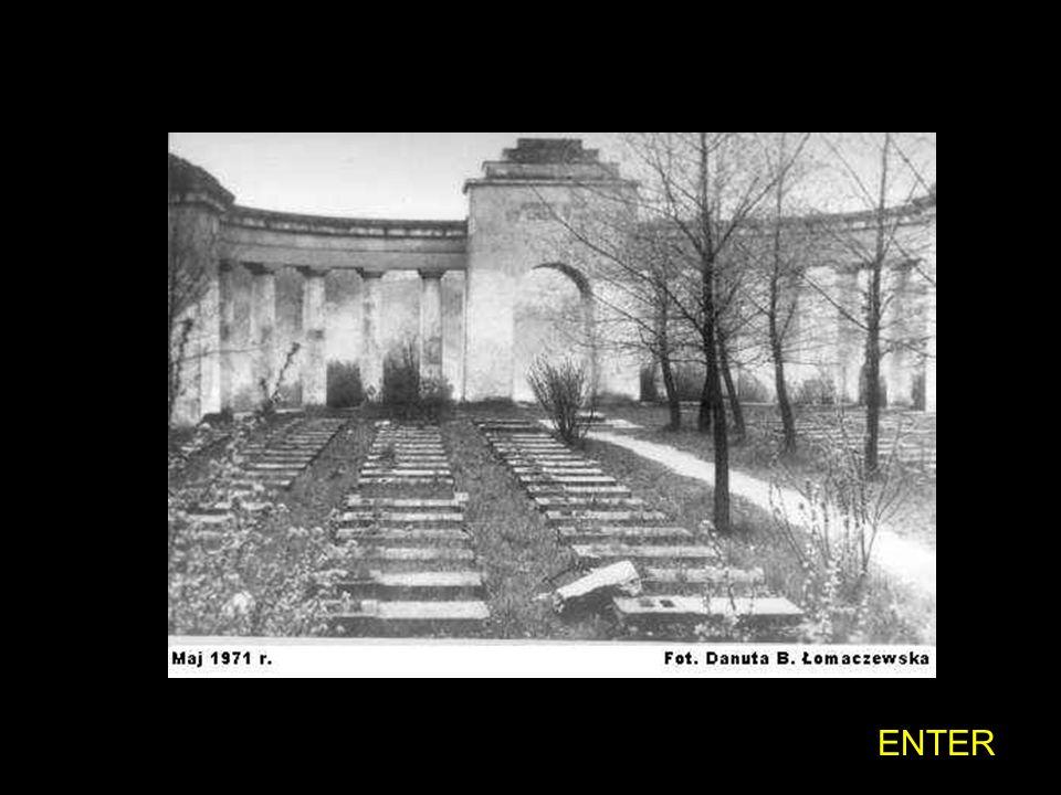 ENTER Historia napisu na Mogile Pięciu z Persenkówki Przed wojną napis brzmiał: