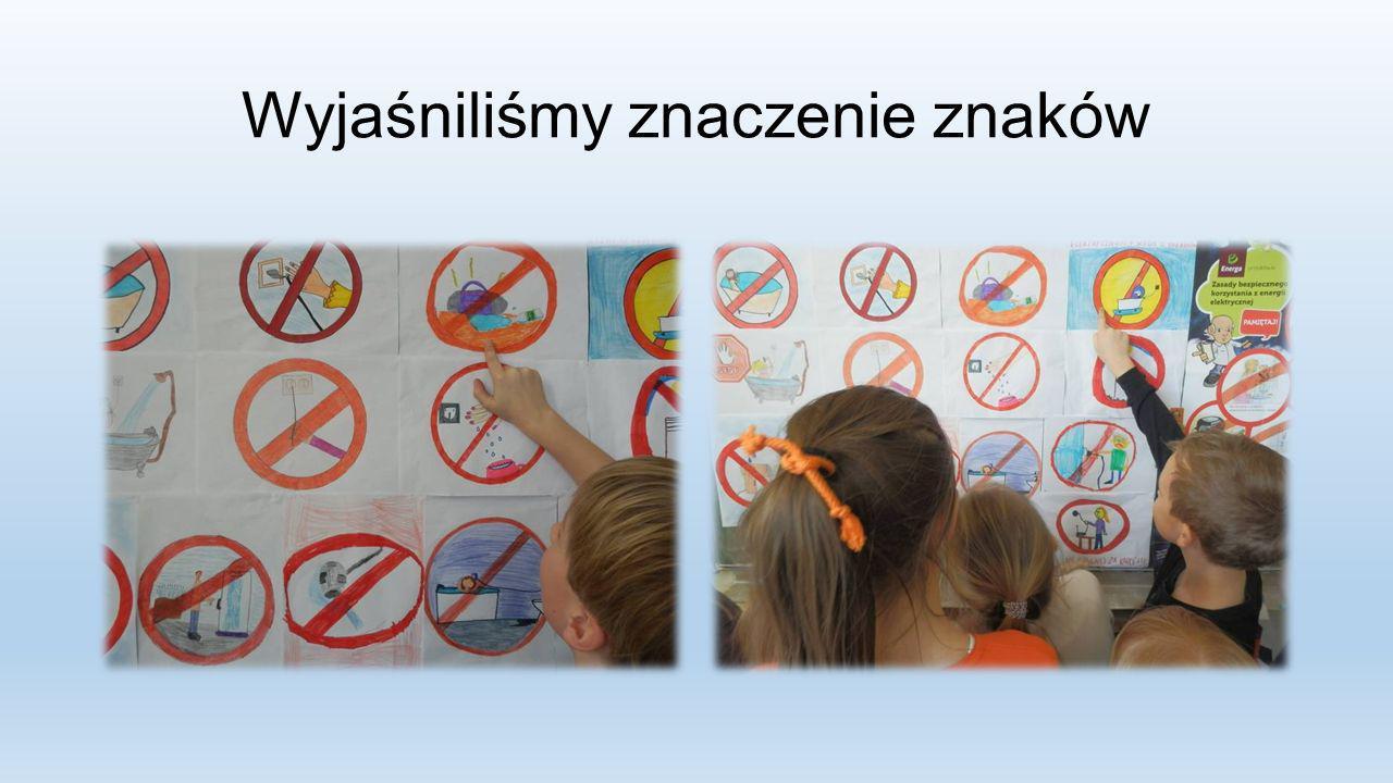Wyjaśniliśmy znaczenie znaków