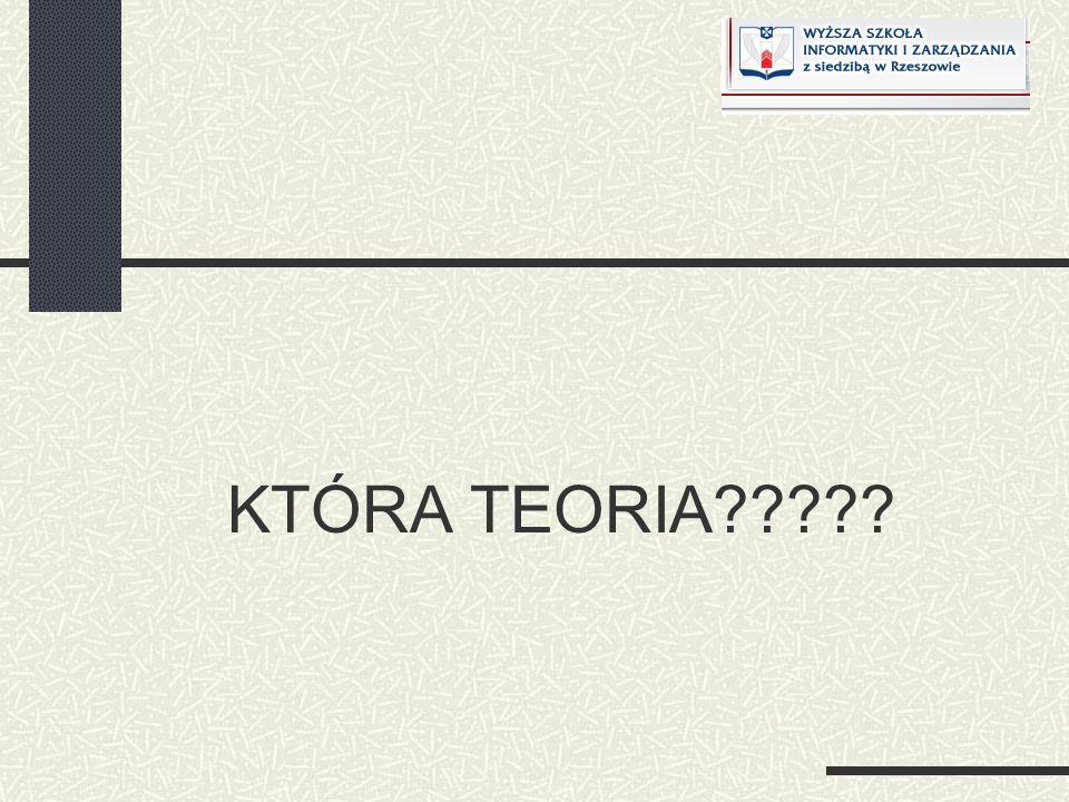 KTÓRA TEORIA?????