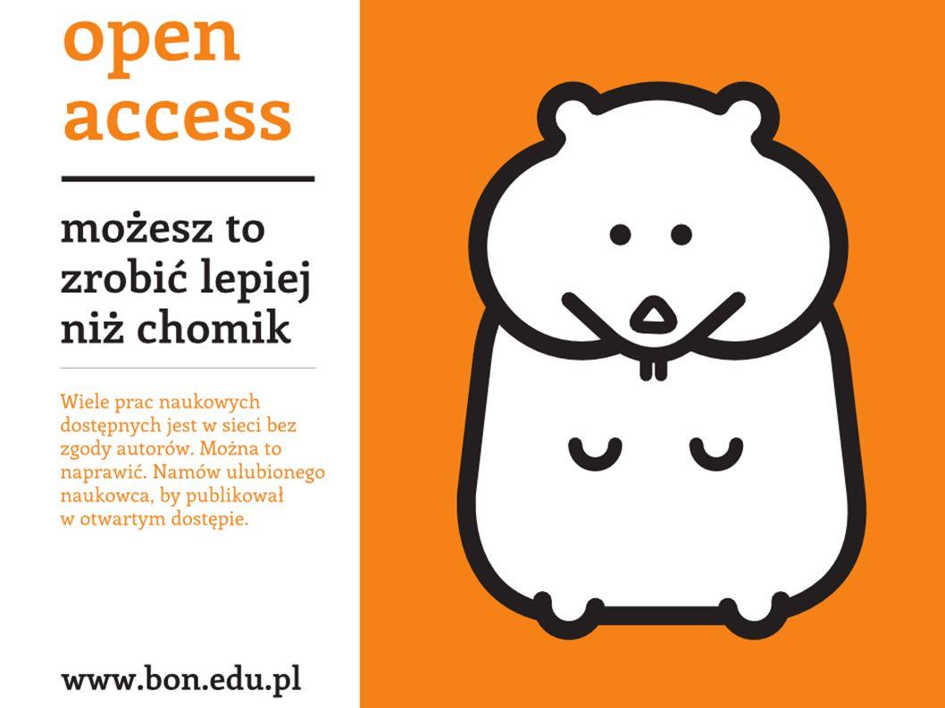 dla naukowców dla studentów dla uczelni wyższych Zalety otwartego dostępu