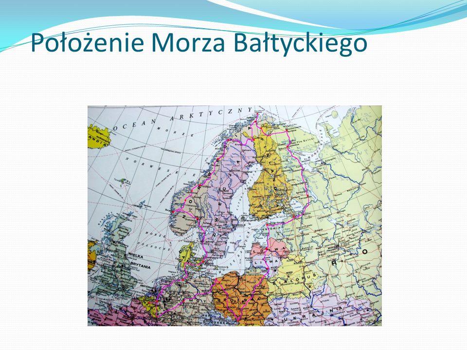 Położenie Morza Bałtyckiego