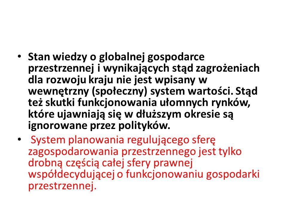 Specyfika struktury własnościowej gruntów rolnych (paskowej) (jest to strukturalna cecha polskiego rolnictwa) podlegających presji urbanizacyjnej narzuca konieczność wprowadzenia, co do zasady w przypadku przeznaczania terenów rolnych i leśnych pod urbanizację obowiązek systemowej reparcelacji gruntów celem zapewnienia ładu przestrzennego i ekonomicznego.