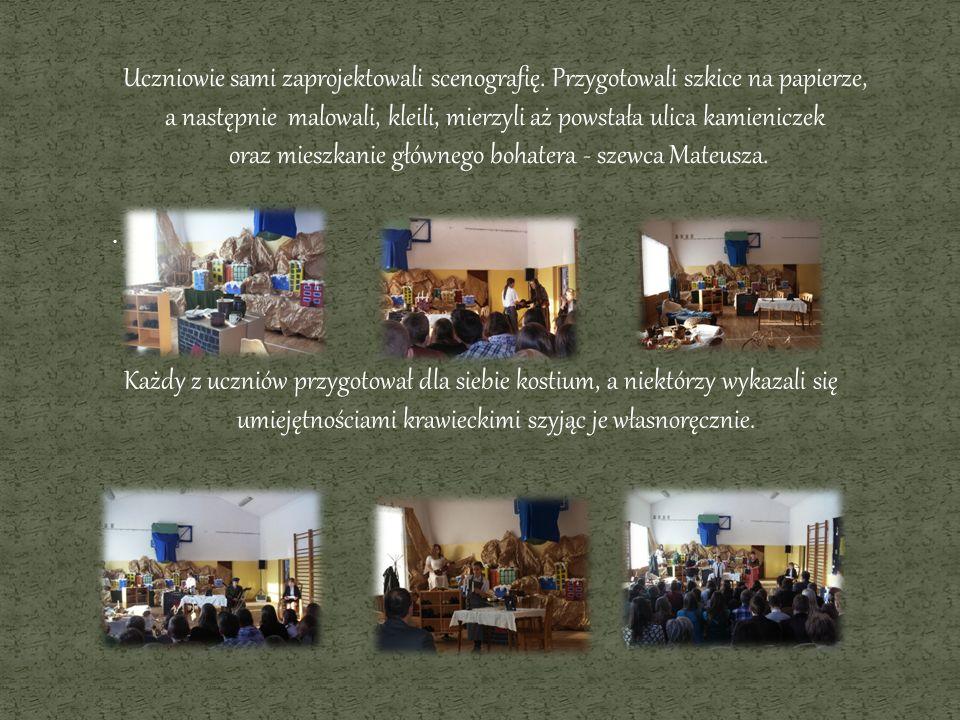 Publiczna prezentacja projektu odbyła się 20 grudnia 2012 roku na sali gimnastycznej.