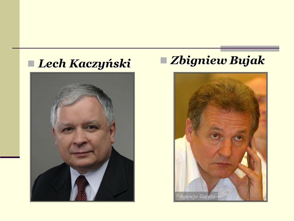 Lech Kaczyński Lech Kaczyński Zbigniew Bujak Zbigniew Bujak