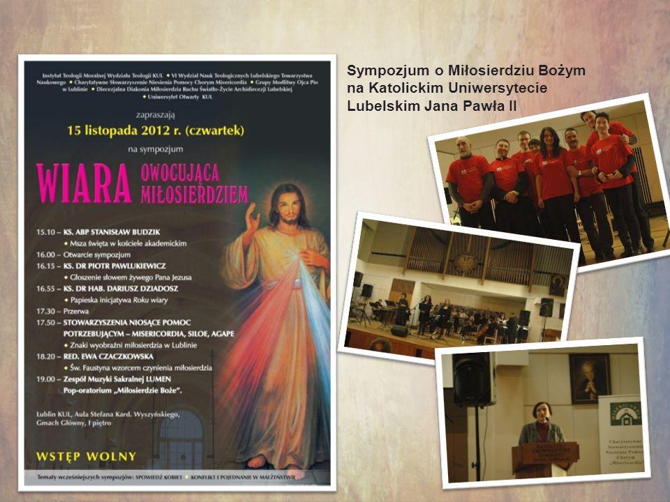 Sympozjum o Miłosierdziu Bożym na Katolickim Uniwersytecie Lubelskim Jana Pawła II