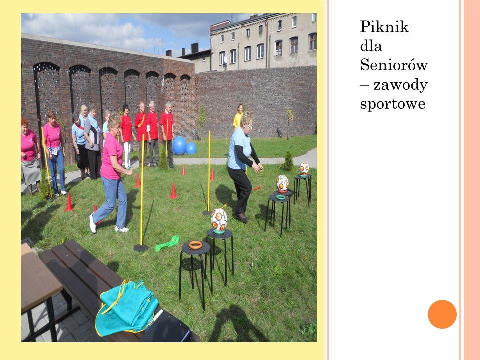 Piknik dla Seniorów – zawody sportowe