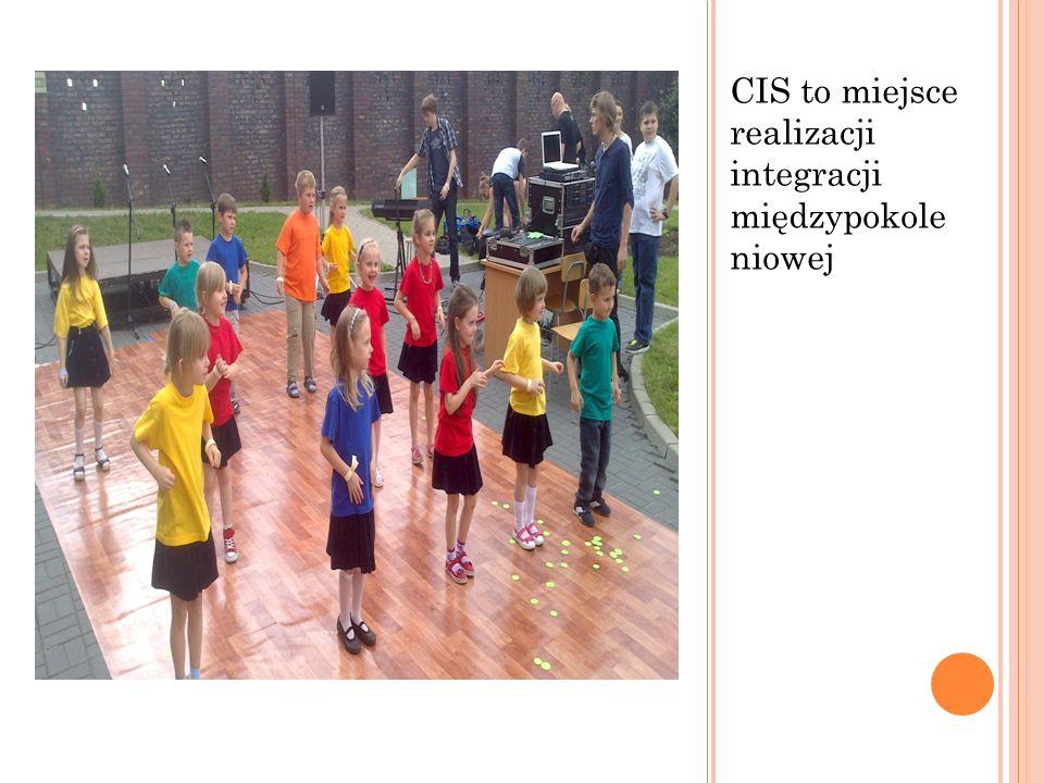 CIS to miejsce realizacji integracji międzypokole niowej