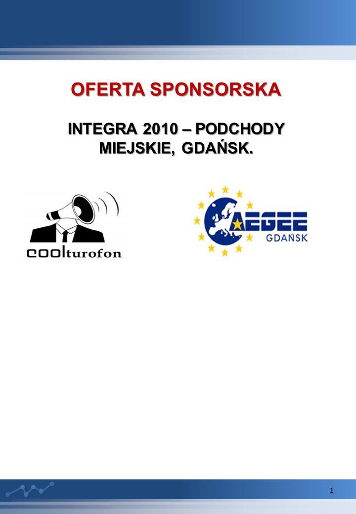 OFERTA SPONSORSKA INTEGRA 2010 – PODCHODY MIEJSKIE, GDAŃSK. 1