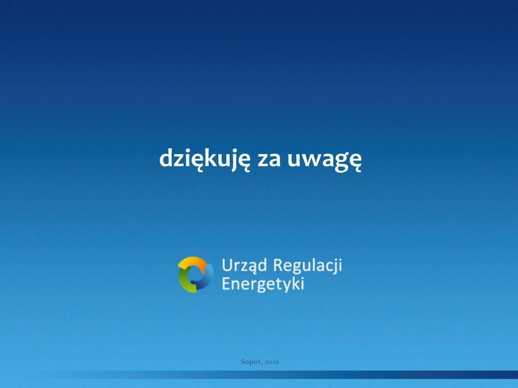dziękuję za uwagę Sopot, 2012