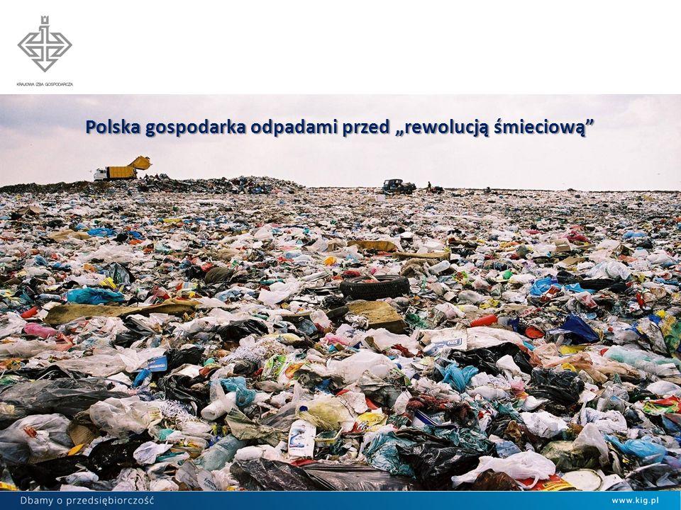 POLSKA GOSPODARKA ODPADAMI KOMUNALNYMI 2012 W LICZBACH oficjalnie rocznie wytwarzamy ponad 12 mln ton odpadów komunalnych - faktycznie ok.