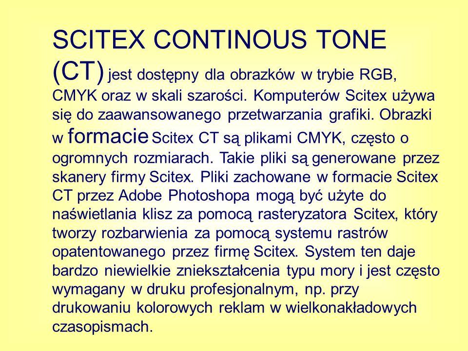 TGA (Targa ) został opracowany z myślą o systemach z kartą TrueVision, jest on powszechnie obsługiwany przez aplikacje graficzne systemu MS-DOS.