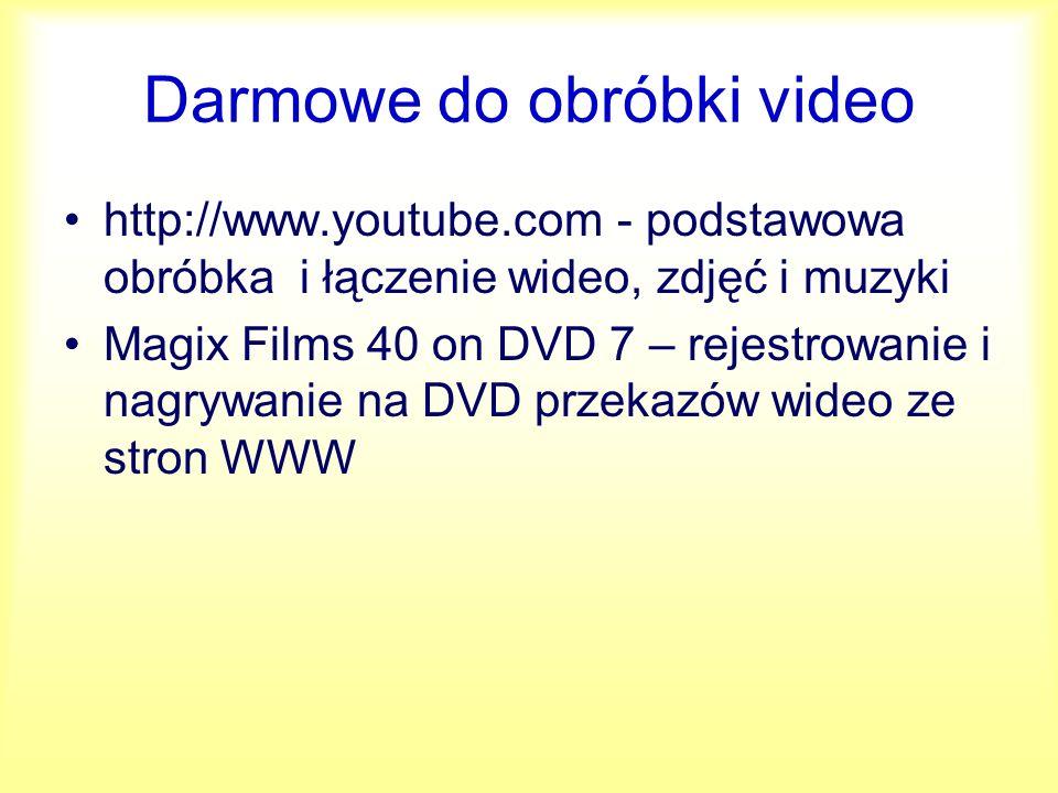 Aplikacje DivX/XviD i DVD Gordian Knot AutoGK DVD Decrypter Gspot ffdshow DVD Decrypter DVD Shrink DVD ReBuolder QuEnc Cinema Craft Encoder TMGEnc