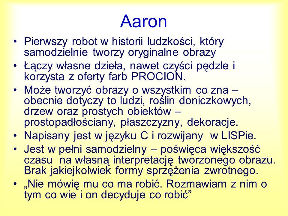 Aaron - dzieła http://www.viewingspace.com/genetics_culture/pages_ genetics_culture/gc_w05/cohen_h.htm