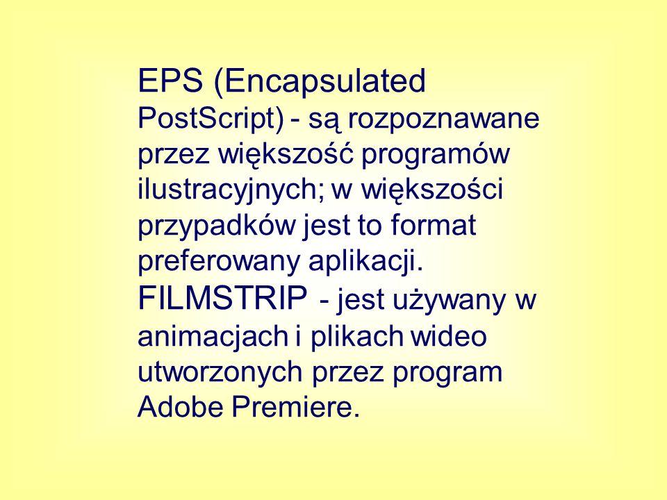 MACPAINT - jest powszechnie używany do przesyłania obrazków bitmapowych do aplikacji Macintosha.