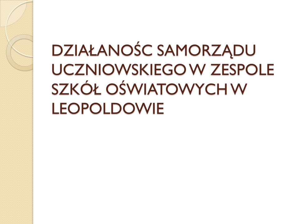 Samorząd Samorząd Uczniowski jest organizacją powołaną dla uczniów i przez uczniów.