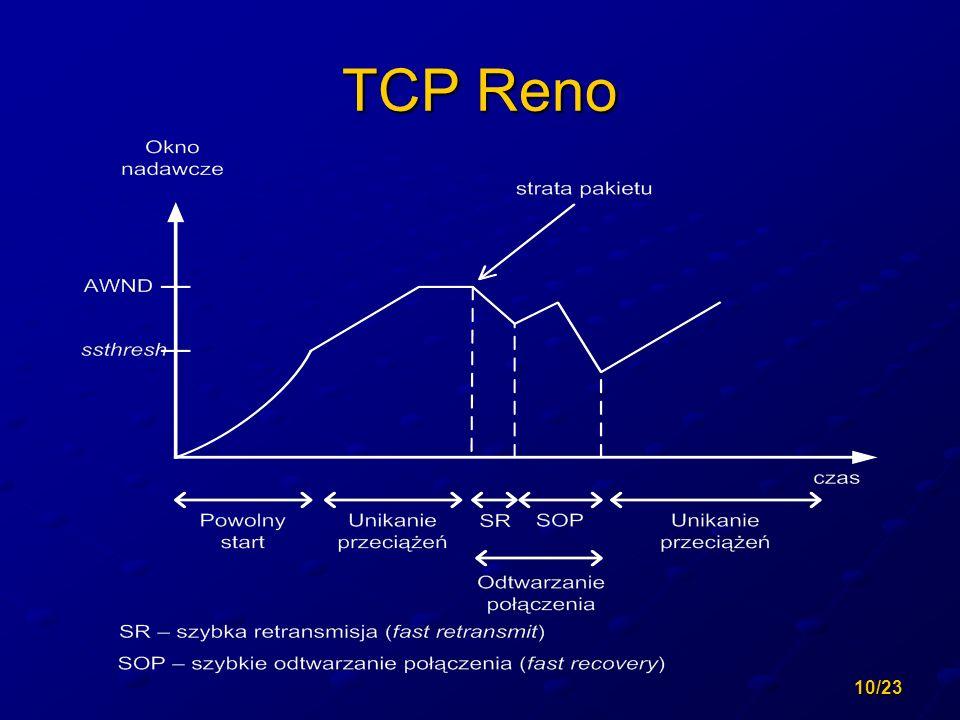 10/23 TCP Reno