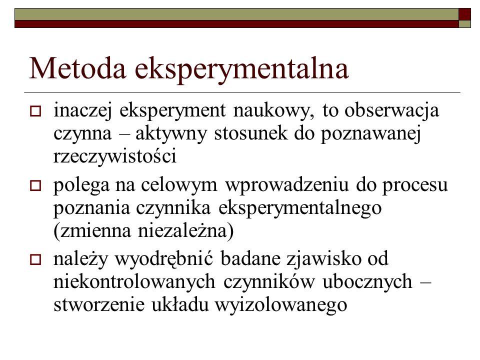podział: 1.Metody odroczonego wartościowania 2. Metody transpozycji 3.