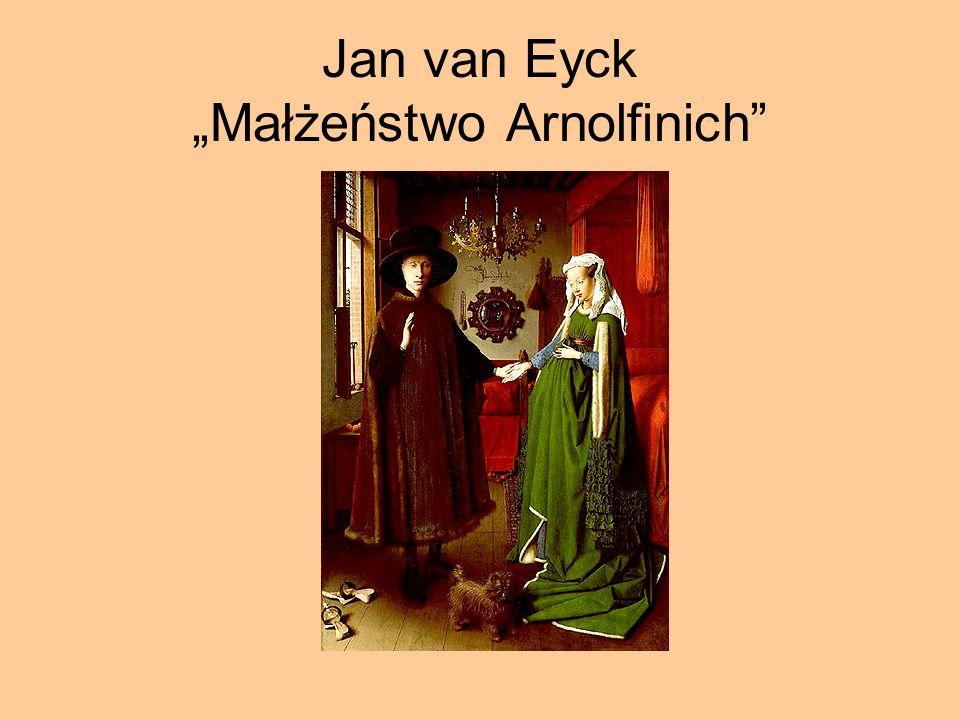 Jan van Eyck Małżeństwo Arnolfinich