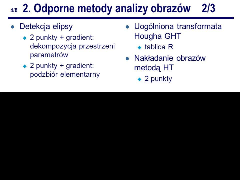 6/10Odporne metody analizy obrazów.ZZ. Repetytorium 4/8 2.