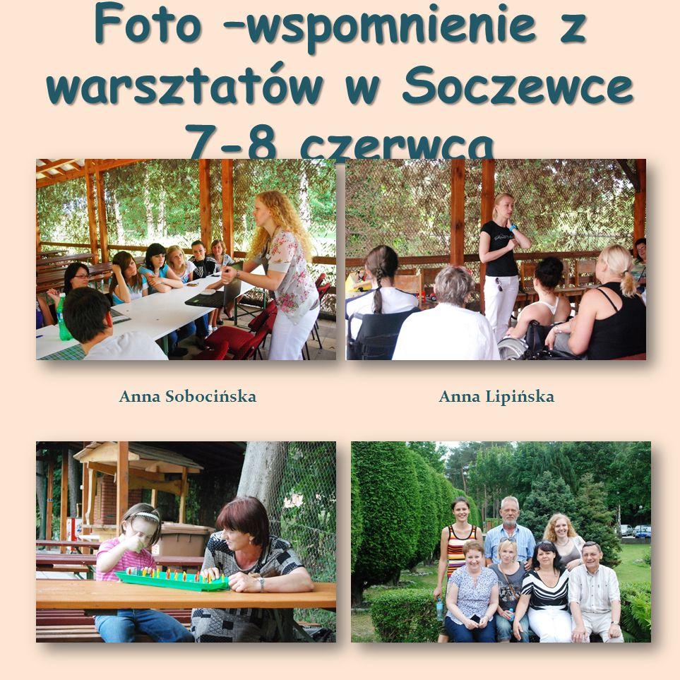 Foto –wspomnienie z warsztatów w Soczewce 7-8 czerwca Anna SobocińskaAnna Lipińska
