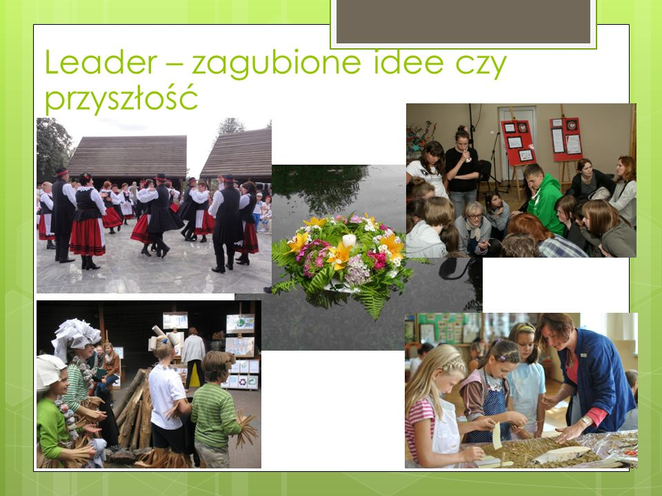 Leader – czyli co.
