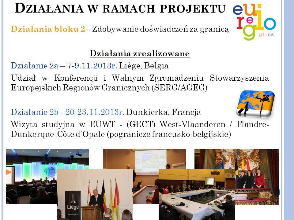 Działania bloku 3 - Analiza systemowych problemów współpracy transgranicznej na czesko-polskiej granicy W ramach tego działania zostanie opracowana Analiza definiująca problemy w zakresie rozwoju współpracy transgranicznej w różnych dziedzinach, np.