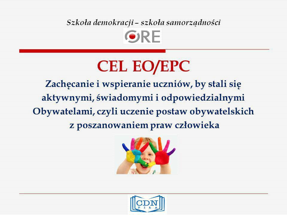 Kluczowe pojęcia EO/EPC 1.Demokracja 9. Różnorodność 2.