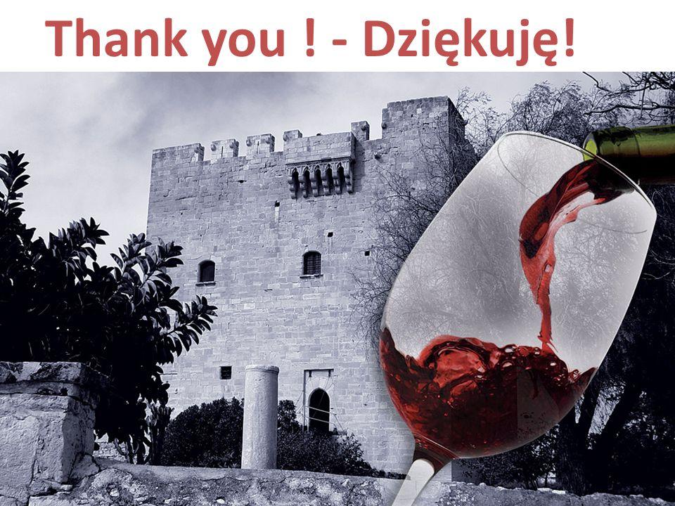 Thank you ! - Dziękuję!